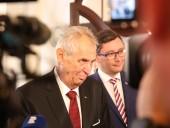 Президент Чехии Земан снова считает, что местная контрразведка