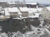 В Норвегии продолжаются поиски пострадавших в результате масштабного оползня