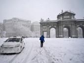 В Испании снежный ураган Филомена унес жизни четырех человек