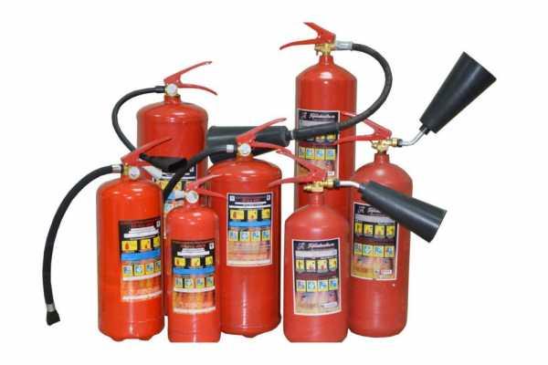Порошковые огнетушители класса ОП – область применения