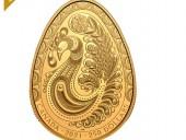 Канадский монетный двор отчеканил золотую писанку