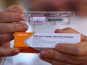 Гонконг начнет противоковидные прививки китайской вакциной Sinovac на следующей неделе