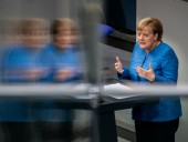 Меркель призвала США к сотрудничеству в противостоянии вызовам из России и Китая