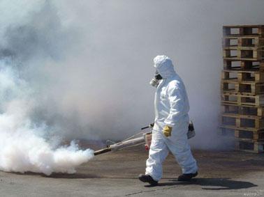 Дезинфекция холодным туманом в квартирах и домах в Вологде