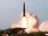 КНДР заявила о запуске двух тактических ракет