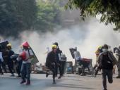 Протесты в Мьянме: военные убили 7-летнюю девочку