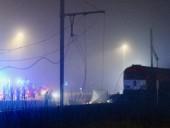В Бельгии поезд протаранил грузовик: погиб украинский водитель