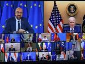 Байден и лидеры ЕС договорились защищать демократию и верховенство закона