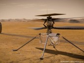 Американский вертолет Ingenuity готов к первому старту