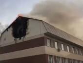 В Москве горел бизнес-центр