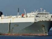 В Турции большое грузовое судно село на мель
