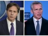Генсек НАТО и госсекретарь США призвали Россию прекратить наращивание войск возле украинской границы