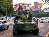 Переворот в Мьянме: военная хунта запретила использование спутниковых тарелок