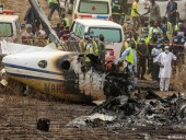 В Нигерии разбился военный самолет: погиб генерал-лейтенант