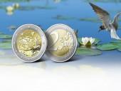 Монетный двор Литвы на своих монетах ошибочно написал девиз другой страны