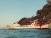 В Индонезии горело судно: эвакуировали сотни людей