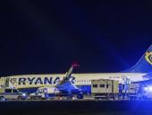 Самолет Ryanair совершил экстренную посадку в Берлине из-за сообщения о минировании