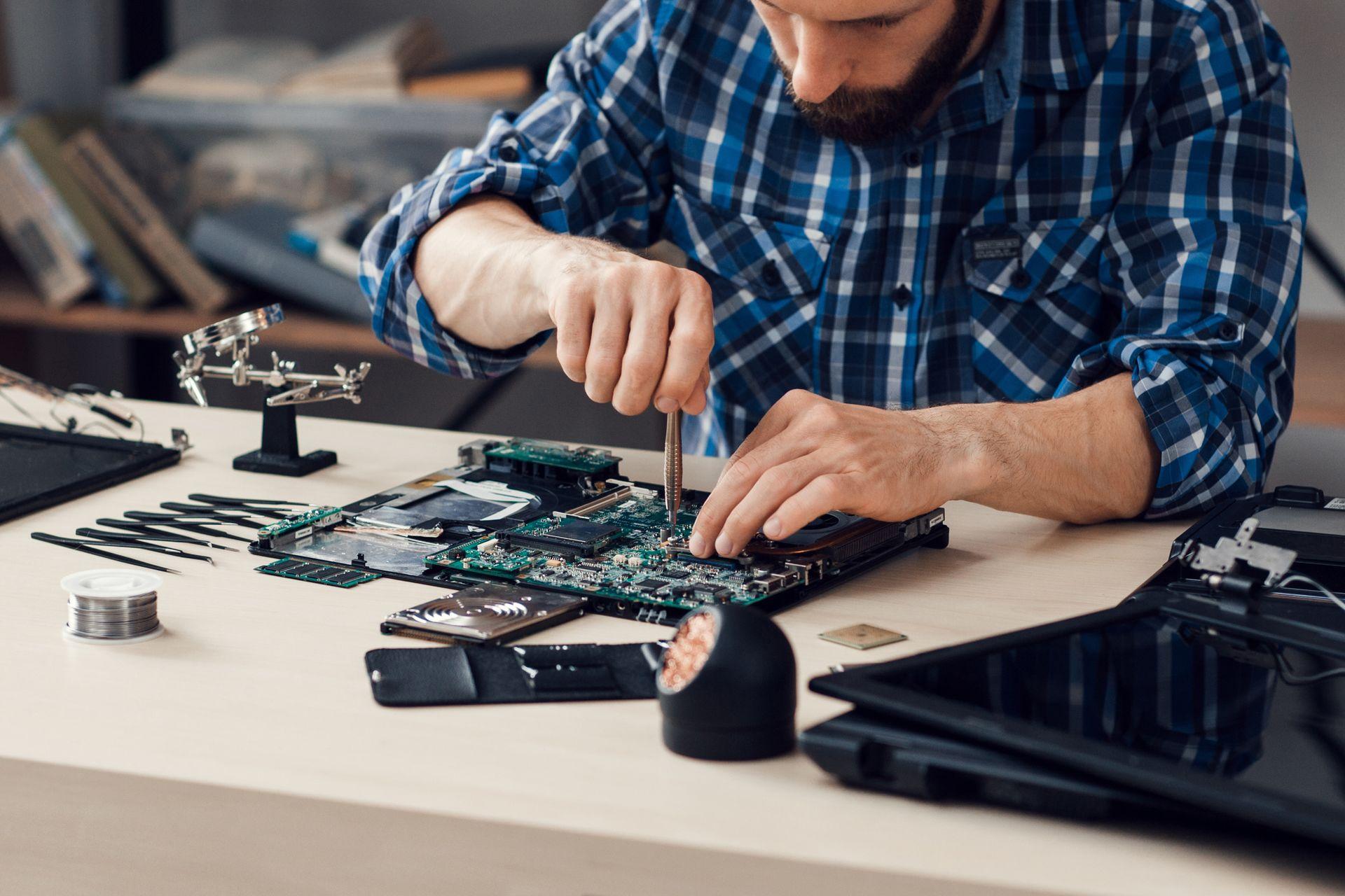 Настройка и обслуживание компьютерной техники на дому заказчика