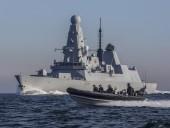 BBC опубликовало видео с борта британского эсминца во время инцидента у оккупированного Крыма