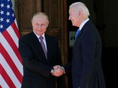 Байден и Путин
