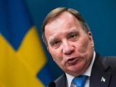 Премьер Швеции, получивший вотум недоверия, объявил о своей отставке