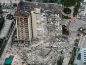 Во Флориде частично обрушился 12-этажный жилой дом, есть жертва