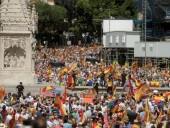 Тысячи людей протестуют против возможного помилования Испанией заключенных каталонских лидеров
