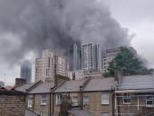 Взрыв на станции метро в Лондоне: загорелось шесть авто и телефонная будка, пострадали два человека