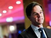 Премьер-министр Нидерландов отказался от участия в саммите ЕС с Путиным