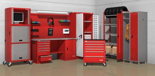 Огромный выбор верстаков и сейфов, шкафов и стеллажей