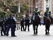 В Сиднее полиция окружила центр города, чтобы предотвратить митинг из-за всплеска случаев COVID-19