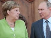 """Меркель обсудила по телефону с Путиным """"Северный поток — 2"""" и транзит газа через Украину"""