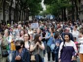 Полиция Франции назвала количество протестующих против обязательной вакцинации