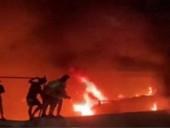 Пожар в COVID-больнице в Ираке: погибли 44 человека
