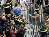 В Грузии задержали напавших на журналистов во время беспорядков из-за проведения ЛГБТ-марша