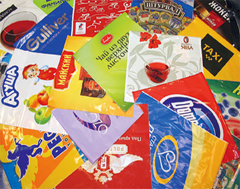 Упаковочные материалы с печатью логотипа
