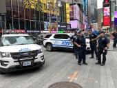 В Нью-Йорке из-за подозрительного предмета эвакуировали Таймс-сквер