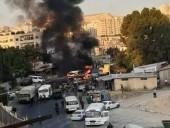 В результате взрыва военного автобуса в Дамаске погиб водитель и ранены еще три человека