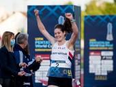 Британская спортсменка с рекордом выиграла золото Олимпийских игр по пятиборью