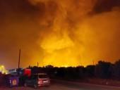 Жителей греческого острова Крит предупредили о высокой пожарной опасности