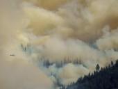 Жители Северной Калифорнии оказались в опасности из-за пожара