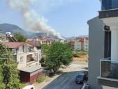 В турецком Даламане вспыхнул новый лесной пожар