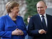 Меркель у Путина заявила о