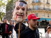 Во Франции 19 человек задержали на манифестациях против санитарных пропусков