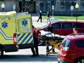 По меньшей мере два человека погибли, один ранен в результате стрельбы у здания суда в США