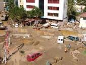 Север Турции страдает от наводнений: один человек пропал без вести