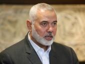 Исмаил Хания переизбран на второй срок председателем группировки ХАМАС