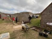 Немецкий бункер времен Второй мировой внутри римского форта обнаружили на острове в Ла-Манше