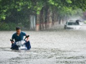Китай страдает от наводнения