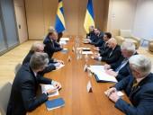Зеленский предложил Швеции принять участие в создании сети мусороперерабатывающих заводов в Украине